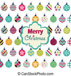 glædelig jul, card
