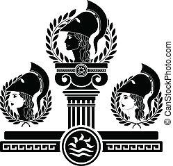 glória,  Athena