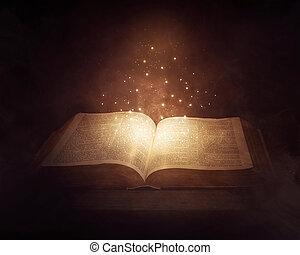 glødende, bibel