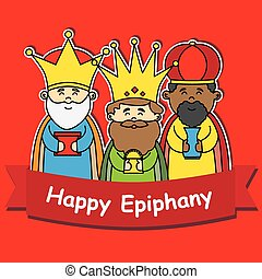 glücklich, dreikönigsfest