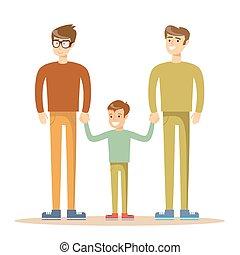 Homosexuell gemischte Männer