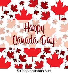 glücklich, kanada, day!