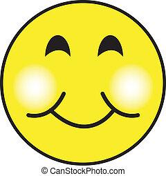 glücklich, smiley, kunst, klammer, gesicht