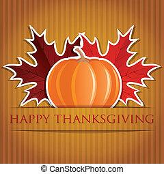 glücklich, thanksgiving!