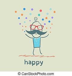 glücklich