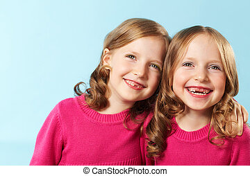 glücklich, zwillinge
