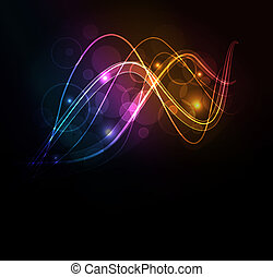 glühen, abstrakt, hintergrund