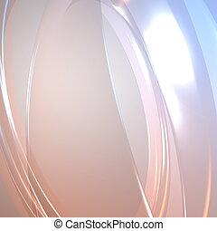 glühen, abstrakt, strömend