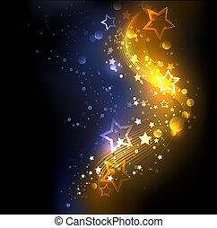 glühen, hintergrund