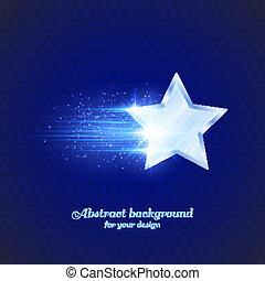glühen, stern, hintergrund
