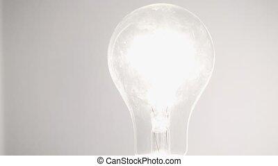 glühlampe, weiß, hintergrund