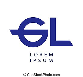 GL Logo Design Concept