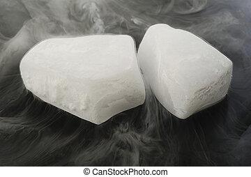 glace sèche