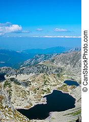 Glacial lake in Retezat