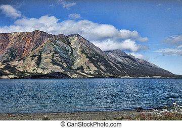 glaciale, lago, settentrionale