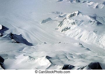 glaciar, antártico