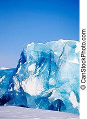 glaciar, detalle