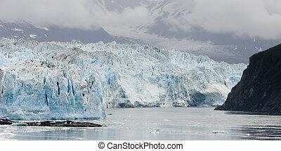 glaciar, hubbard, alaska