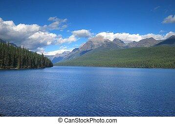 glaciar, nacional, montana, parque