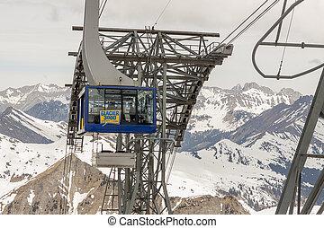 Glacier 3000 - Les Diablerets, Swiss.