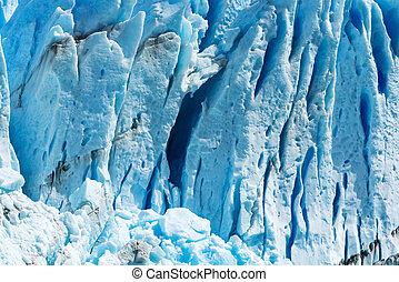 glacier, argentine, perito, moreno, détail