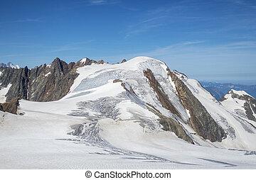 glacier at sustenhorn