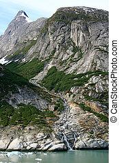 Glacier Bay, Alaska, USA - Glacier Bay Fjord - the icy...