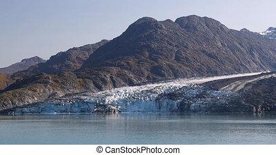Glacier Bay Alaska view of Glacier from cruise ship vacation travel