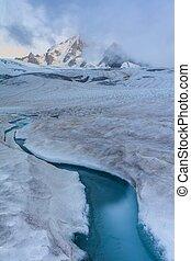 glacier du Tour. French Alps