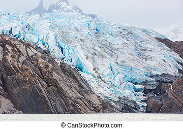 glacier grey in chile