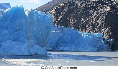 Glacier Grey in Patagonia Chile