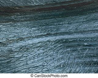 Glacier Ice Abstract