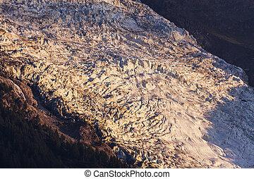 Glacier in Chamonix area
