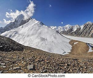 Glacier in Tajikistan