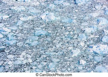 glacier, moreno, détail, argentine, perito