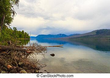Glacier National Park - Lake McDonald.