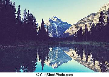 Glacier Park - Glacier National Park, Montana.