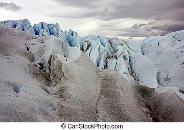 Glacier Perito Moreno ice