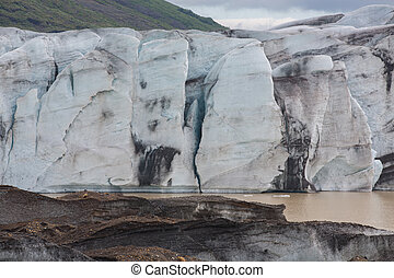 Glacier wals in Iceland