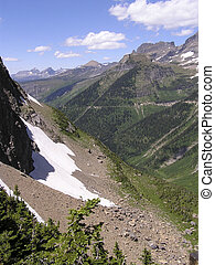 glaciers and gorge - hiking amid glaciers,gorges and...
