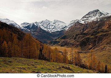 Glaciers in Austria Alps