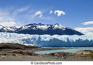 glaciers of Argentina - photo was taken on the glacier...