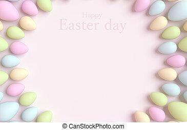 glad påsk, bakgrund.
