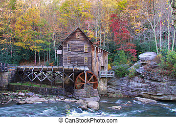 Glade creek grist mil - Beautiful Glade creek Grist mill