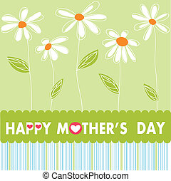 glade, dag, mor
