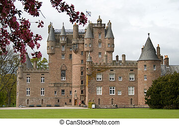 Glamis Castle in Scotland - Childhood home of the late Queen...