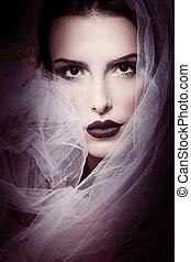 glamorous beauty woman