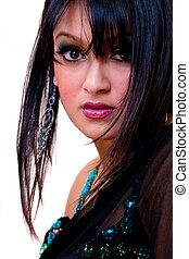 Glamorous Indian woman