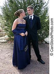 Glamorous Young Couple