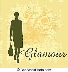 glamour grunge